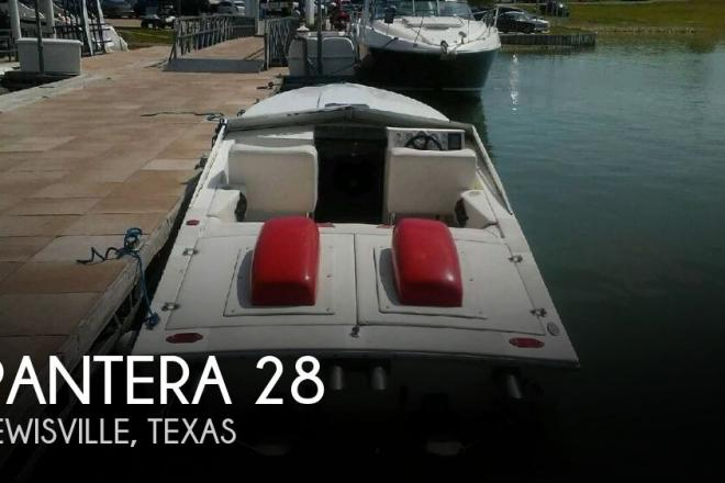 1987 Pantera 28 - For Sale at Lewisville, TX 75029 - ID 126788
