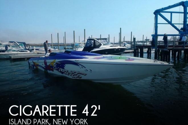1996 Cigarette Revolution 42 - For Sale at Island Park, NY 11558 - ID 126898