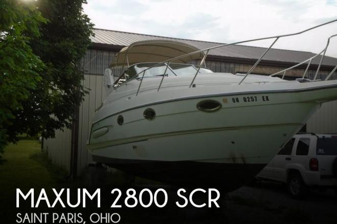 1999 Maxum 2800 SCR - For Sale at Saint Paris, OH 43072 - ID 126899