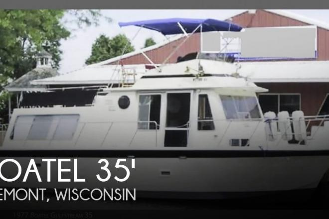 1977 Boatel Gulfstream 35 - For Sale at Fremont, WI 54940 - ID 126208