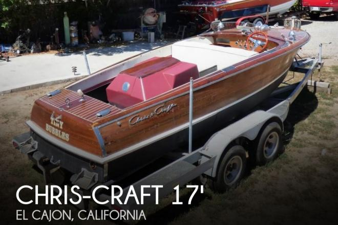1947 Chris Craft 17 Deluxe Runabaout - For Sale at El Cajon, CA 92019 - ID 126693
