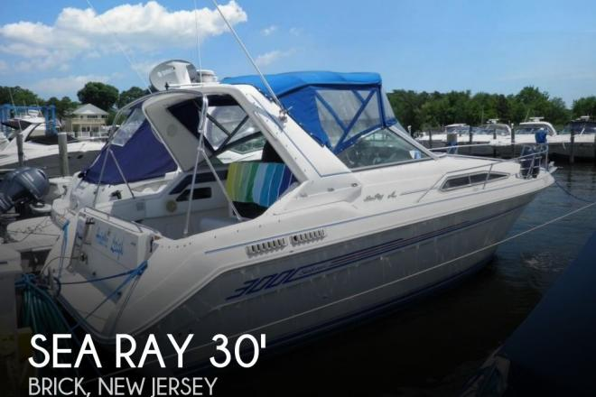 1992 Sea Ray 300 Sundancer - For Sale at Brick, NJ 8723 - ID 130514