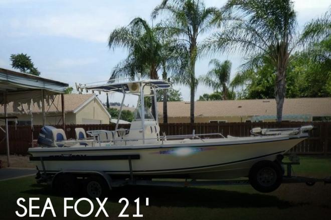 2001 Sea Fox 215 BAY FISHER - For Sale at Lakeside, CA 92040 - ID 126163