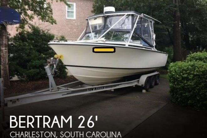 1976 Bertram 26 Moppie SF Convertible - For Sale at Charleston, SC 29401 - ID 126745