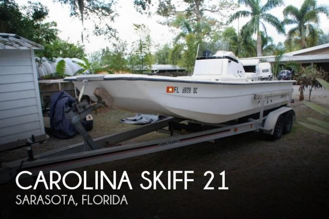 1994 Carolina Skiff 21 - For Sale at Sarasota, FL 34230 - ID 122260