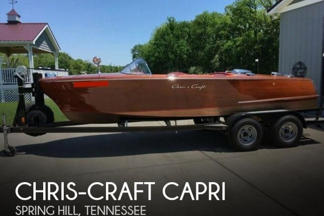1957 Chris Craft Capri - For Sale at Spring Hill, TN 37174 - ID 123420