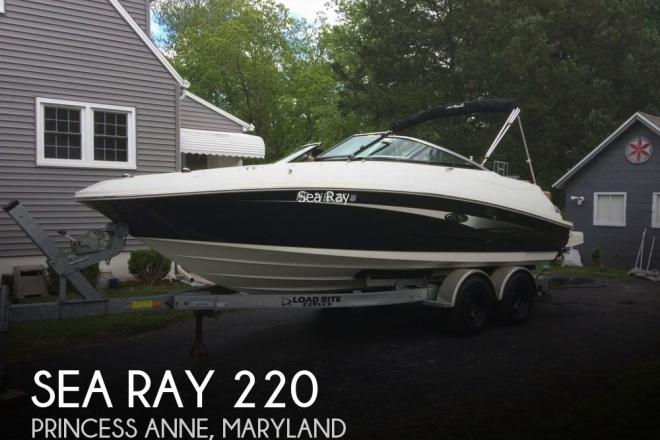 2014 Sea Ray 220 - For Sale at Princess Anne, MD 21853 - ID 122782