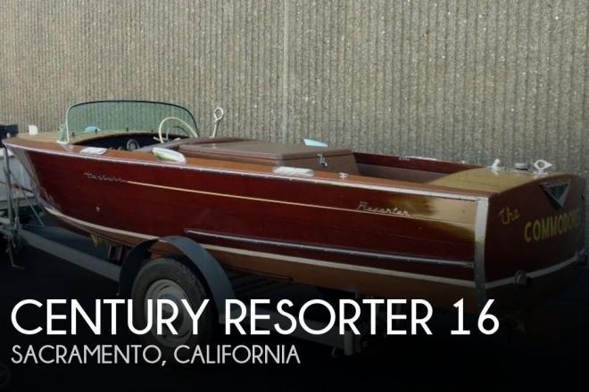 1957 Century Resorter 16 - For Sale at Sacramento, CA 94203 - ID 121397