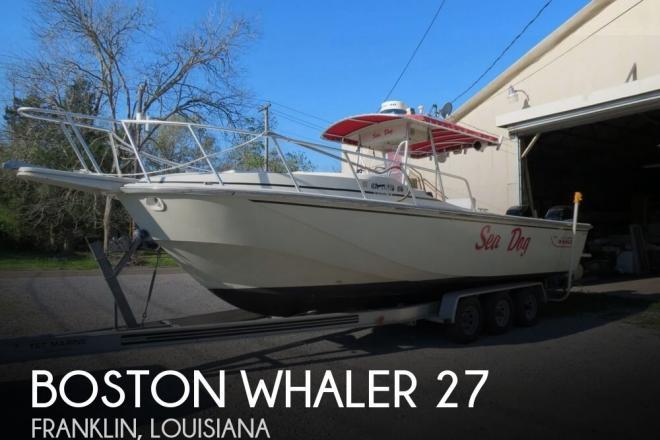 1986 Boston Whaler 27 - For Sale at Franklin, LA 70538 - ID 116066