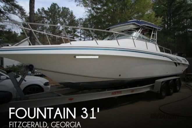 1998 Fountain 31 Sportfish - For Sale at Fitzgerald, GA 31750 - ID 112799