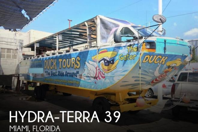 2000 Hydraterra 39 - For Sale at Miami, FL 33137 - ID 111920