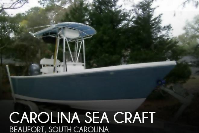 2010 Carolina Sea Craft 208 SAVANNAH OFFSHORE - For Sale at Beaufort, SC 29901 - ID 111696