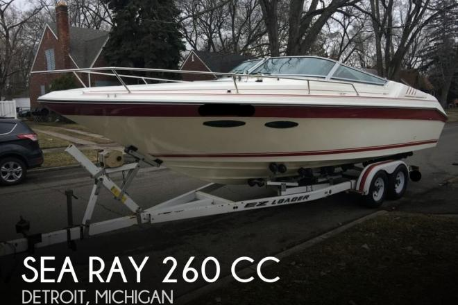 1989 Sea Ray 260 CC - For Sale at Detroit, MI 48201 - ID 111001
