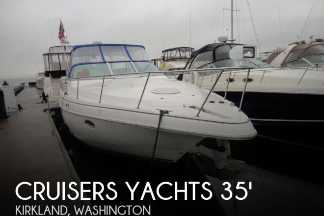 2000 Cruisers 3575 Express - For Sale at Kirkland, WA 98033 - ID 110653
