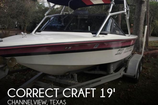 1994 Correct Craft Ski Nautique - For Sale at Channelview, TX 77530 - ID 105925
