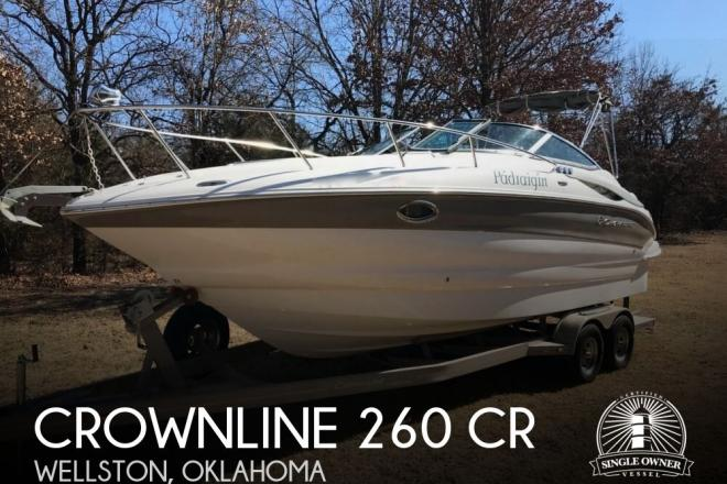 2011 Crownline 260 CR - For Sale at Wellston, OK 74881 - ID 138258