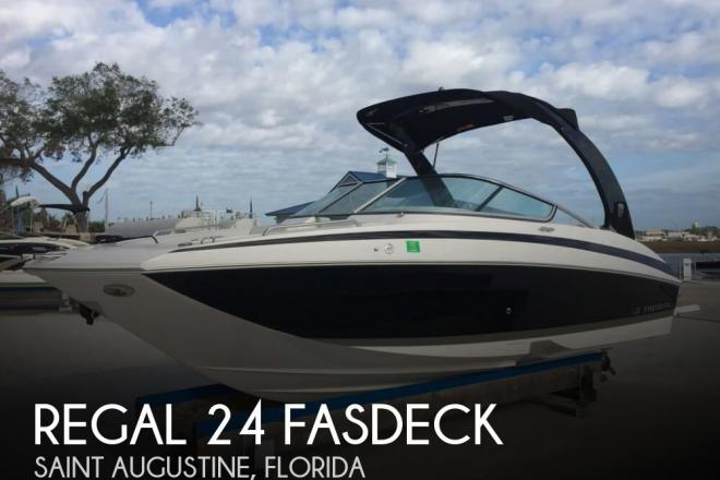 2014 Regal 24 FASDECK - For Sale at Saint Augustine, FL 32084 - ID 105218