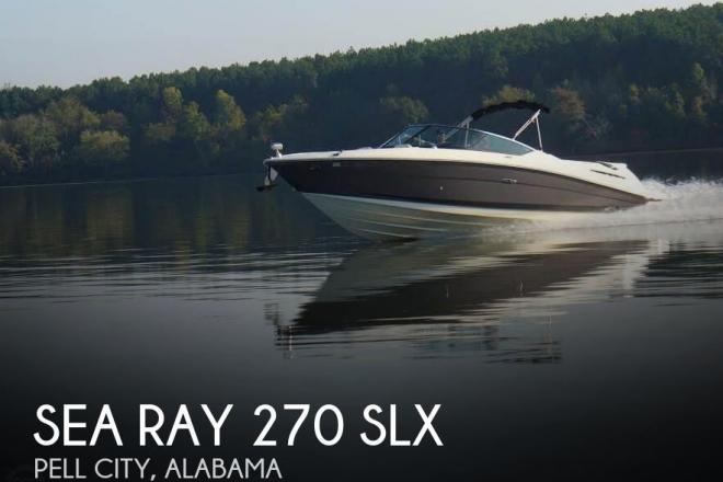 2006 Sea Ray 270 SLX - For Sale at Pell City, AL 35128 - ID 104709