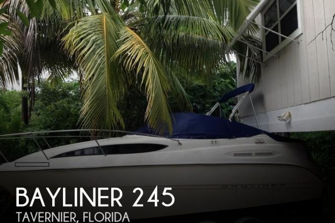 2003 Bayliner 245 - For Sale at Tavernier, FL 33070 - ID 104233