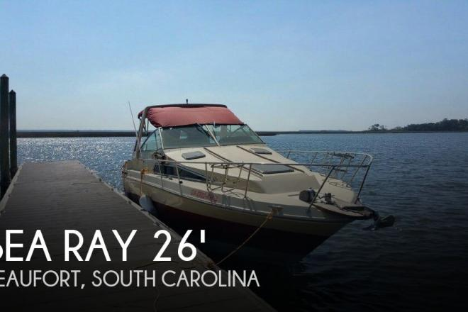 1986 Sea Ray 268 Sundancer Aft Cabin - For Sale at Beaufort, SC 29901 - ID 101438