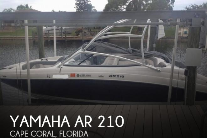 2011 Yamaha AR 210 - For Sale at Cape Coral, FL 33990 - ID 105091