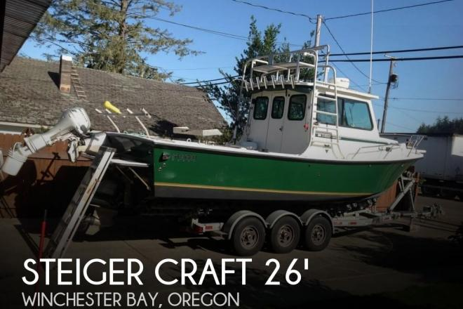 2005 Steiger Craft 26 Chesapeake - For Sale at Winchester Bay, OR 97467 - ID 100693