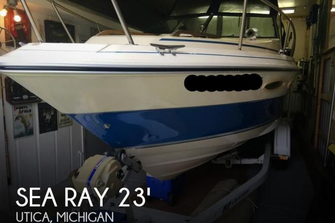 1986 Sea Ray Cuddy Cruiser SRV230 - For Sale at Utica, MI 48317 - ID 104611
