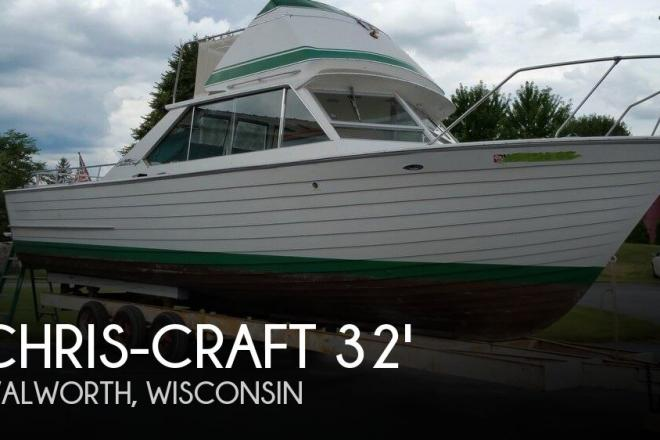 1967 Chris Craft Sea Skiff 32 Sports Cruiser - For Sale at Walworth, WI 53184 - ID 100152