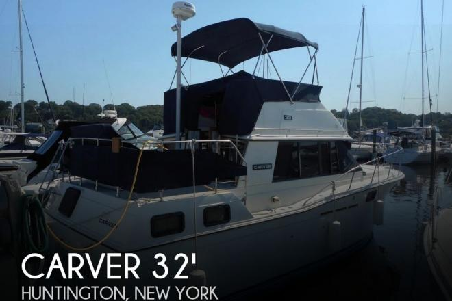 1984 Carver 3207 Aft Cabin - For Sale at Huntington, NY 11743 - ID 129220