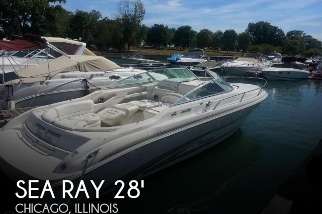 1997 Sea Ray 280 Sunsport - For Sale at Chicago, IL 60687 - ID 99388