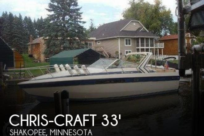 1985 Chris Craft Commander 332 - For Sale at Shakopee, MN 55379 - ID 128066