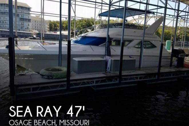 1994 Sea Ray 440 Express Bridge - For Sale at Osage Beach, MO 65065 - ID 129222