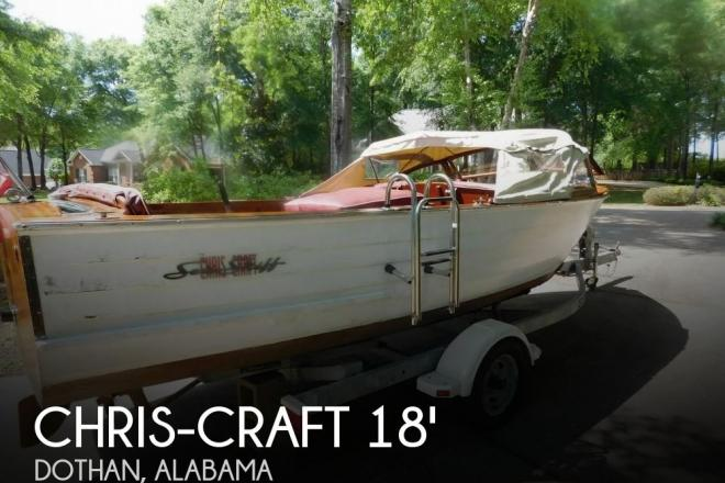 1958 Chris Craft Sea Skiff 18 - For Sale at Dothan, AL 36303 - ID 95833