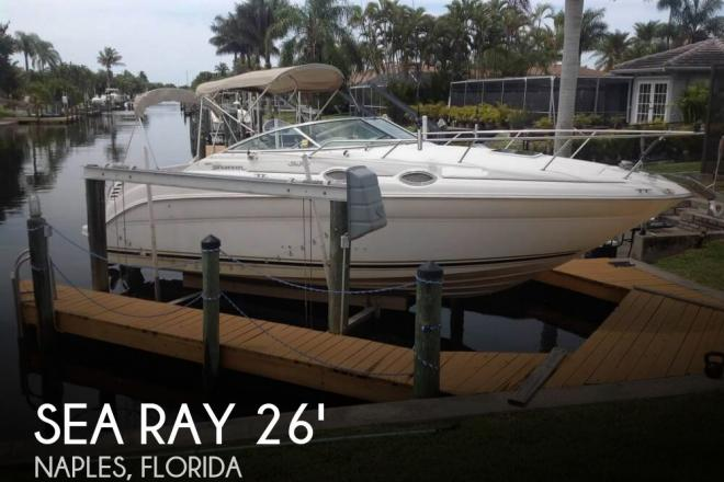 2001 Sea Ray 260 Sundancer - For Sale at Naples, FL 34120 - ID 95050