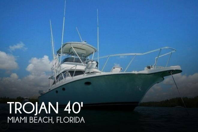 1988 Trojan 12 Meter Convertible - For Sale at North Miami Beach, FL 33160 - ID 94618