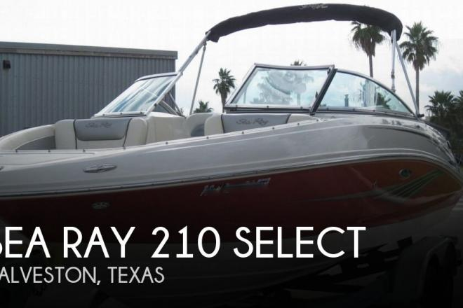 2010 Sea Ray 210 select - For Sale at Galveston, TX 77551 - ID 100411