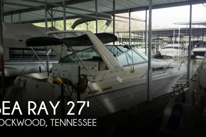 1990 Sea Ray 270 Sundancer - For Sale at Rockwood, TN 37854 - ID 93825