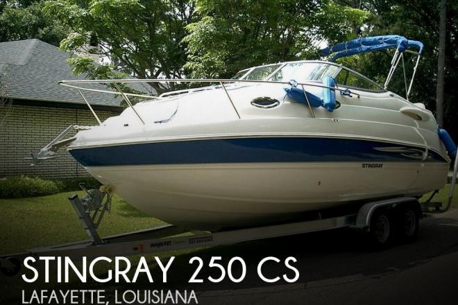 2007 Stingray 250 CS - For Sale at Lafayette, LA 70598 - ID 102081
