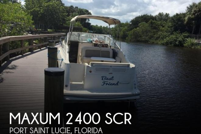 1999 Maxum 2400 SCR - For Sale at Port Saint Lucie, FL 34953 - ID 82897