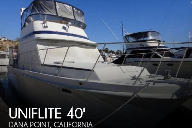 1984 Uniflite 41 Yacht Fisherman - For Sale at Dana Point, CA 92629 - ID 135474
