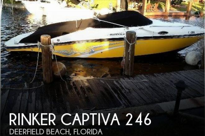 2010 Rinker Captiva 246 - For Sale at Deerfield Beach, FL 33441 - ID 93634