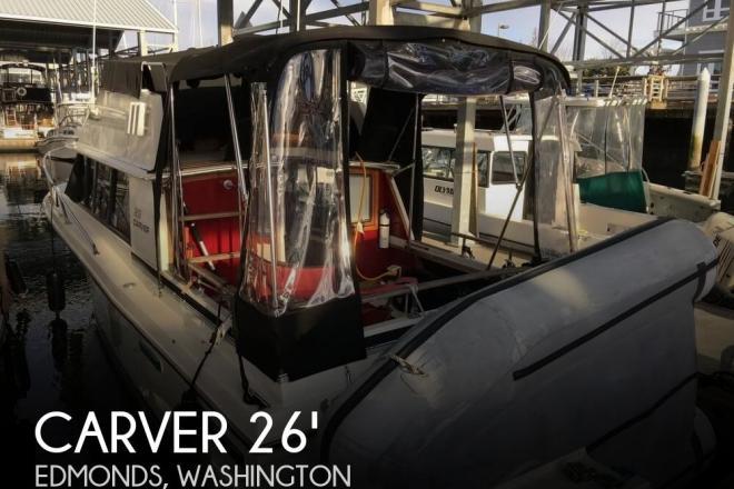 1983 Carver 2667 Santa Cruz - For Sale at Edmonds, WA 98020 - ID 82403