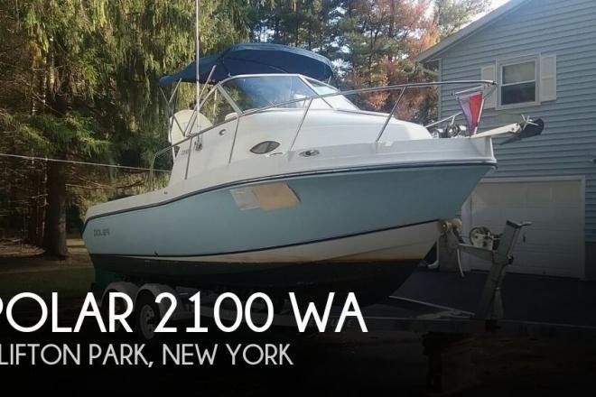 2005 Polar Boats 2100 WA - For Sale at Clifton Park, NY 12065 - ID 80598