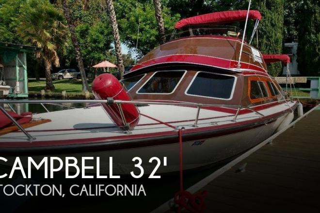 1978 Campbell Flybridge 32 - For Sale at Stockton, CA 95204 - ID 79288