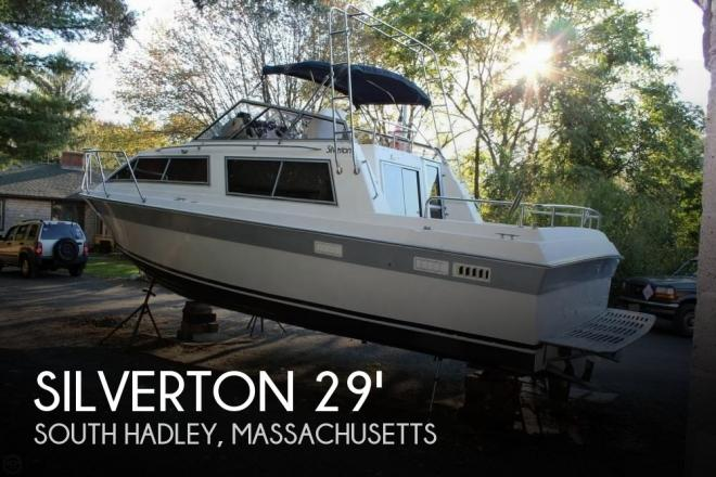 1986 Silverton 29 Sport Cruiser - For Sale at South Hadley, MA 1075 - ID 77121