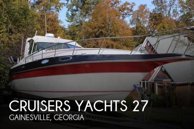 1986 Cruisers 27 - For Sale at Gainesville, GA 30506 - ID 74846
