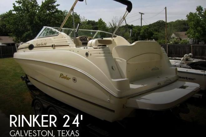 2001 Rinker Fiesta Vee 242 - For Sale at Galveston, TX 77550 - ID 76909