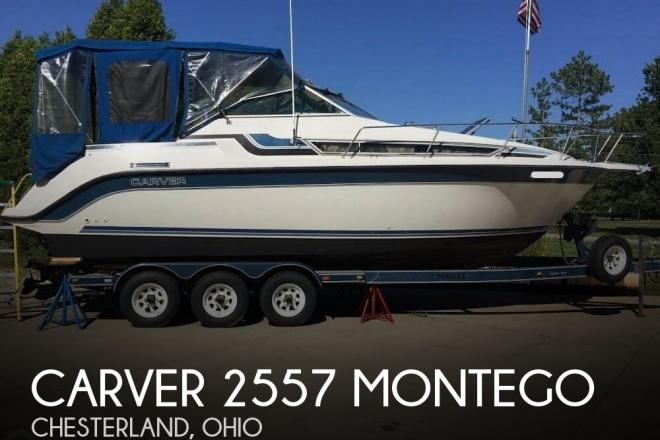 1989 Carver 2557 Montego - For Sale at Chesterland, OH 44026 - ID 103217