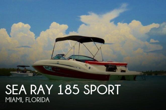 2010 Sea Ray 185 Sport - For Sale at Tavernier, FL 33070 - ID 73940