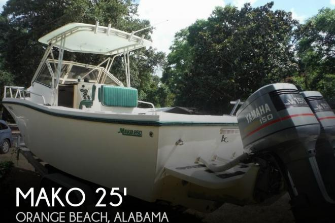 1992 Mako 250B Walkaround - For Sale at Orange Beach, AL 36561 - ID 99998